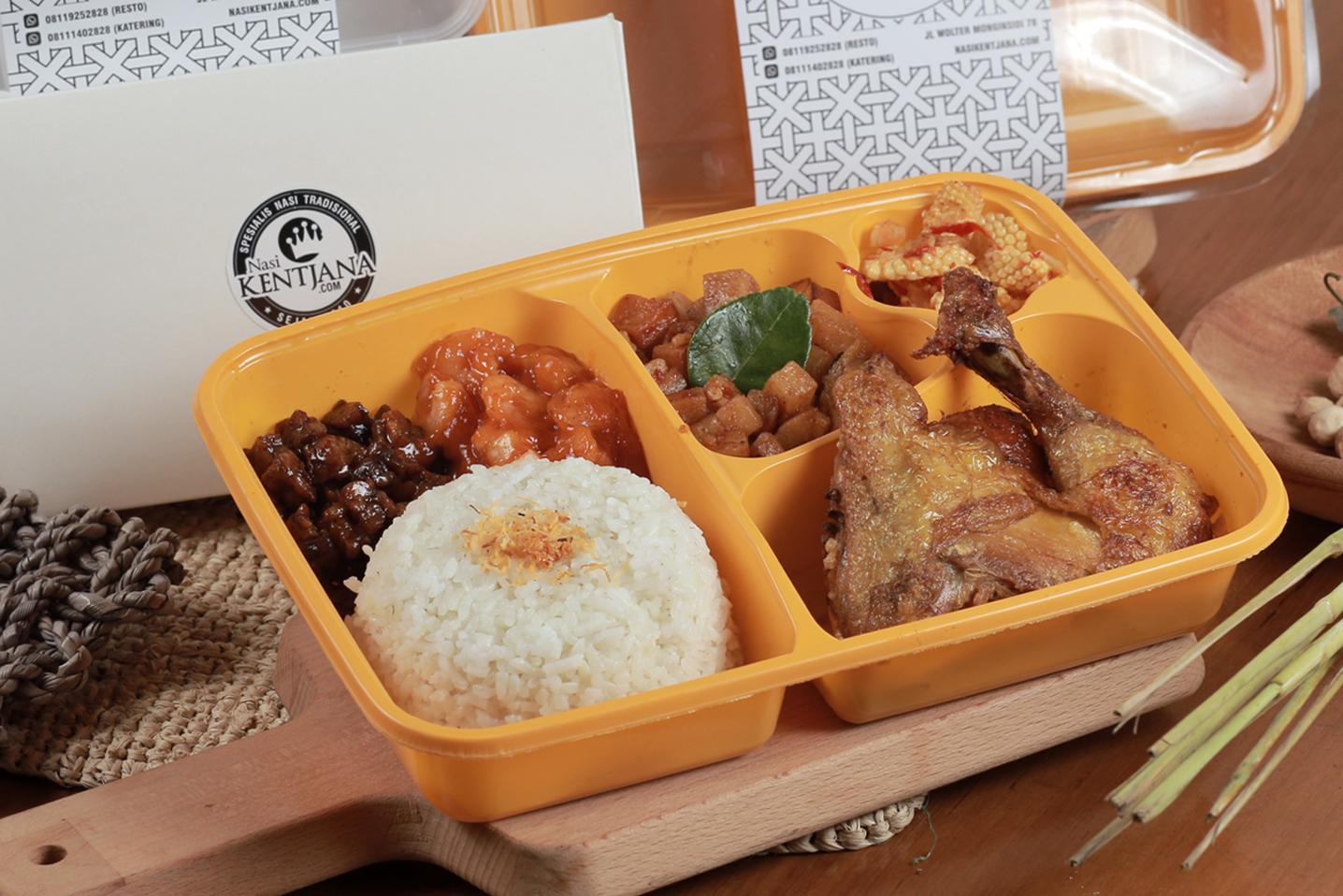 Paket Nasi Box Obento 10