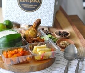 Nasi Kotak Paket A (Rp 27,000)