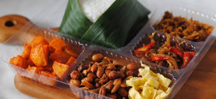 Nasi Kotak Paket F (Rp 32,000)