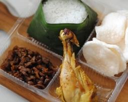 Nasi Kotak Murah Paket B (Rp 21,000)