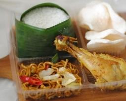Nasi Kotak Murah Paket A (Rp 19,000)